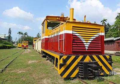 Photograph - Vintage Diesel Engine by Yali Shi
