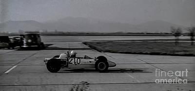 Vintage Racing Car European Gp Art Print