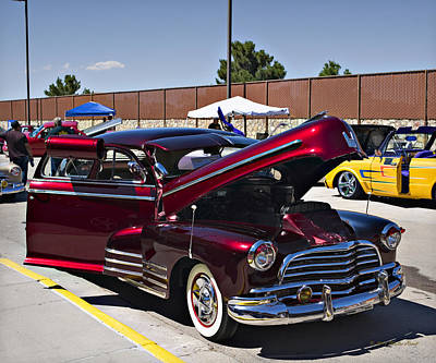Photograph - 1946 Chevy Fleetline_1a by Walter Herrit