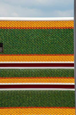 Mosaico Photograph - Wat Pho by Claudio Sanzo