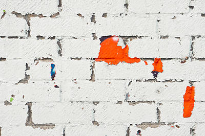 Ancient Apartments Photograph - Weathered Wall by Tom Gowanlock