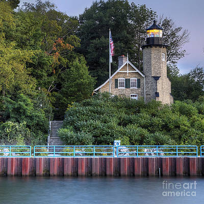 Whitehall Photograph - White River Lighthouse by Twenty Two North Photography