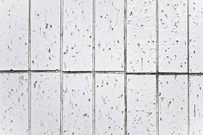 Ceramic Tile Photograph - White Tiles by Tom Gowanlock