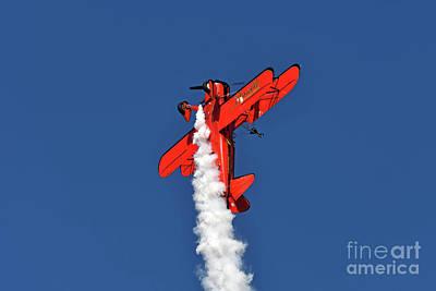 Photograph - Wingwalker Danielle  by George Atsametakis