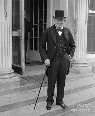 Personalities Photograph - Winston Churchill by English School