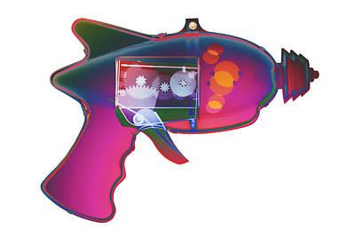 Photograph - X-ray Ray Gun #2 by Roy Livingston