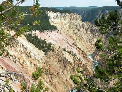 Photograph - Yellowstone Canyon by Rod Jones