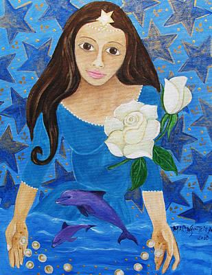 Painting - Yemanja by Maria Matheus Maria Santeira