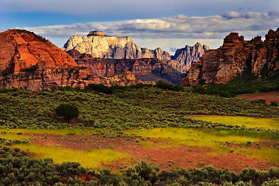 Zion National Park Utah Art Print