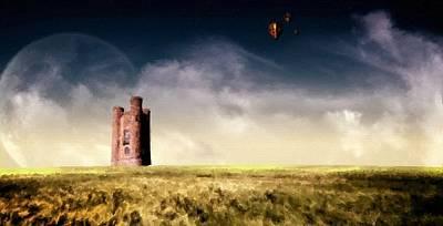 Landscape Digital Art - Acrylic Landscape by Victoria Landscapes