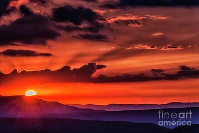 Photograph - Allegheny Mountain Sunrise by Thomas R Fletcher