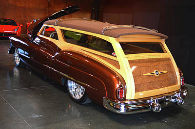 Photograph - 50 Buick Woody  by Bill Dutting