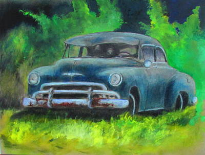 Painting - 50 Chevy by Bobby Walters