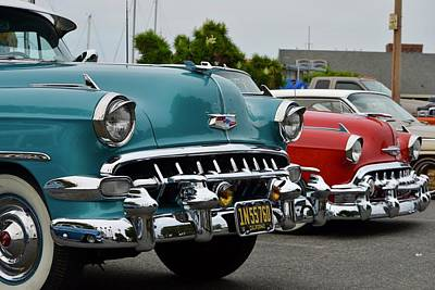 Photograph - 50 Chevy's by Dean Ferreira