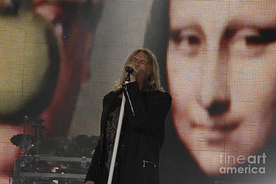 Def Leppard Wall Art - Photograph - Def Leppard by Jenny Potter