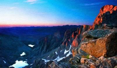 Nature Painting - Landscape Nature Scene by Margaret J Rocha