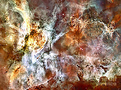 Photograph - 50 Lightyear View Of The Carina Nebula No. 2 by Merton Allen