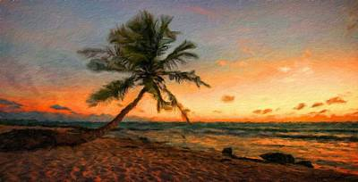 Bob Ross Painting - Nature Landscapes Prints by Margaret J Rocha