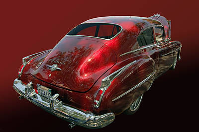 50 Olds Fastback Art Print