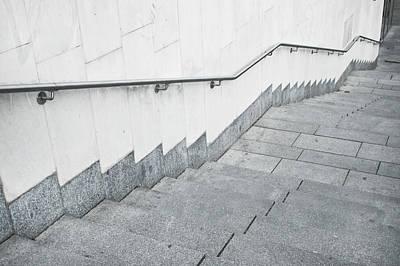 Stone Steps Art Print by Tom Gowanlock