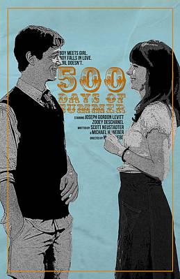 Mystery Digital Art - 500 Days Of Summer by Fine Artist