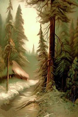 Sunrise Painting - Nature Landscape Pictures by Edna Wallen