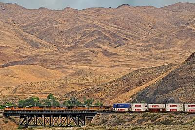 Photograph - 5038 Westbound by Donna Kennedy