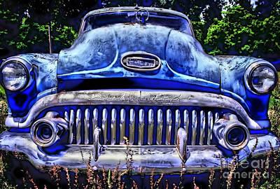 Corky Willis And Associates Atlanta Photograph - 50s Buick Eight by Corky Willis Atlanta Photography