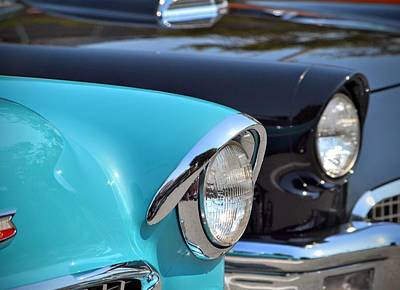 Photograph - 50s Cars by Dean Ferreira