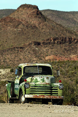 Photograph - 50's Chevy by Rick Mann