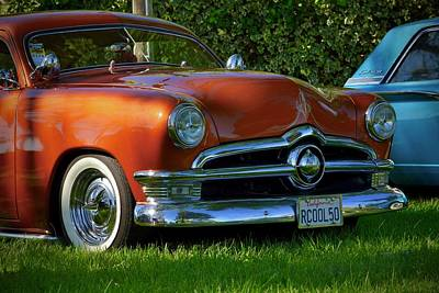 Photograph - 50's Ford In Orange by Dean Ferreira