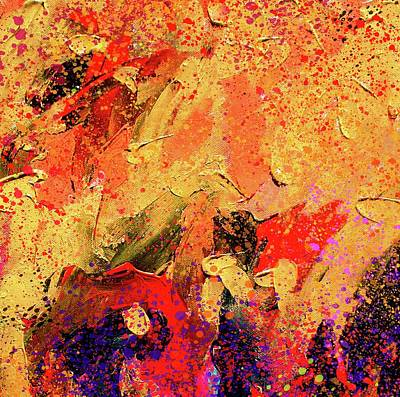 Painting - Abstract Composition by Samiran Sarkar