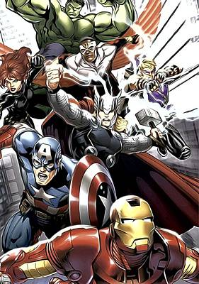 Avengers Digital Art - Avengers The Art by Egor Vysockiy