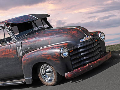 Photograph - 51 Chevy by Gill Billington
