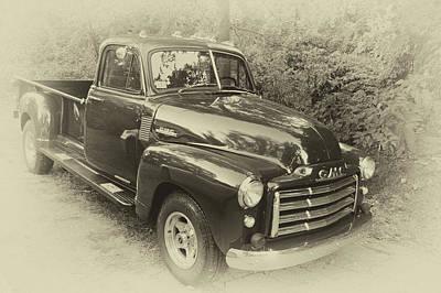 Photograph - 51 G M C Truck by Bill Dutting