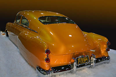 Photograph - 51 Olds Fastback by Bill Dutting