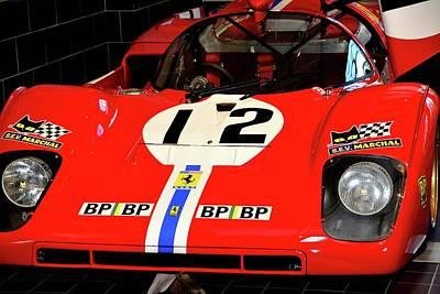 Photograph - 512 M Le Mans by John Schneider
