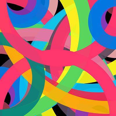 Drawing - 514229 - Phi Word Circle by REVAD David Riley