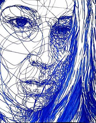 Drawing - Untitled by Kaley LaRose