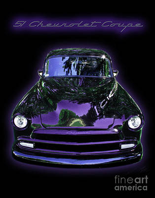 51chevrolet Coupe Art Print by Peter Piatt