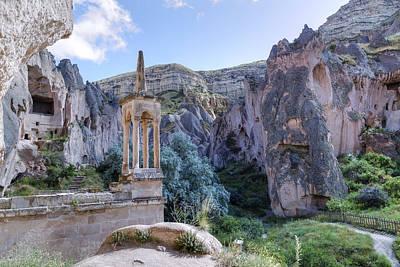 Mosque Photograph - Cappadocia - Turkey by Joana Kruse
