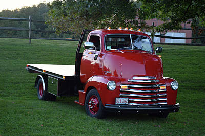 Photograph - 52 Chevy Coe by Bill Dutting
