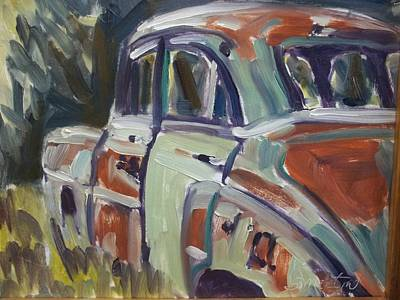 Robert Martin Painting - 52 Chevy by Robert Martin