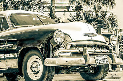Photograph - '52 Chevy by TK Goforth
