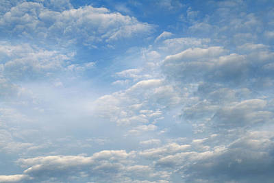 Realistic Photograph - Clouds by Les Cunliffe