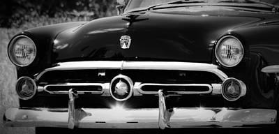 Ford Customline Photograph - '52 Ford Customline  by Dennis Nelson