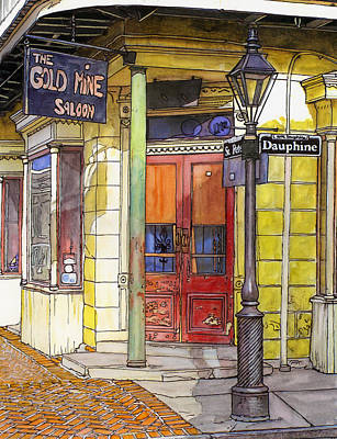 New Orleans Drawing - 52 by John Boles