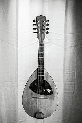 Photograph - 52.1845 Framus Mandolin by M K  Miller