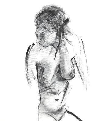 Shades Of Grey Drawing - Rcnpaintings.com by Chris N Rohrbach