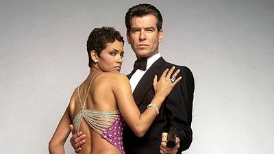 Pierce Brosnan Digital Art - 52607 James Bond Pierce Brosnan Halle Berry Movies Die Another Day by Anne Pool